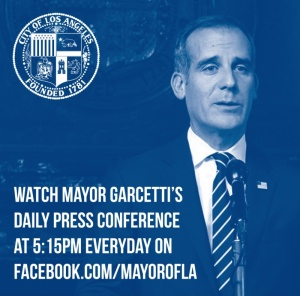Mayor Garcetti's Daily Press Conference